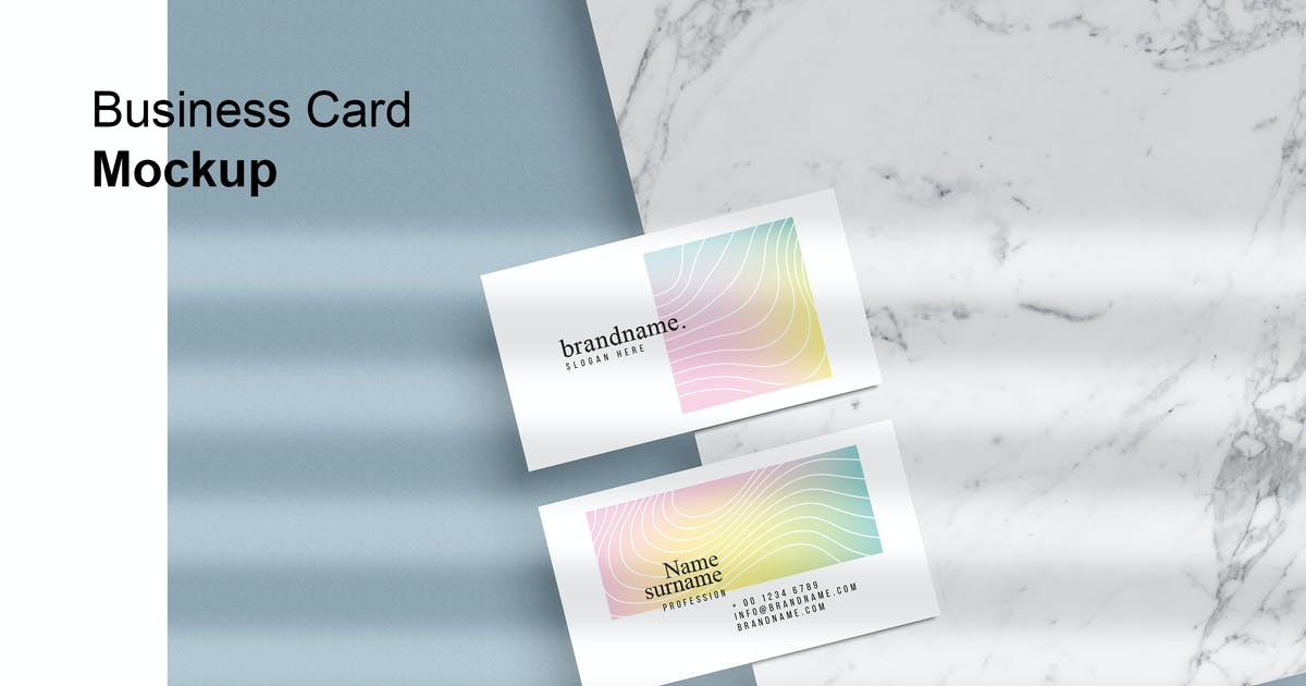 Download Business Card Mock-Up by GraphicGata