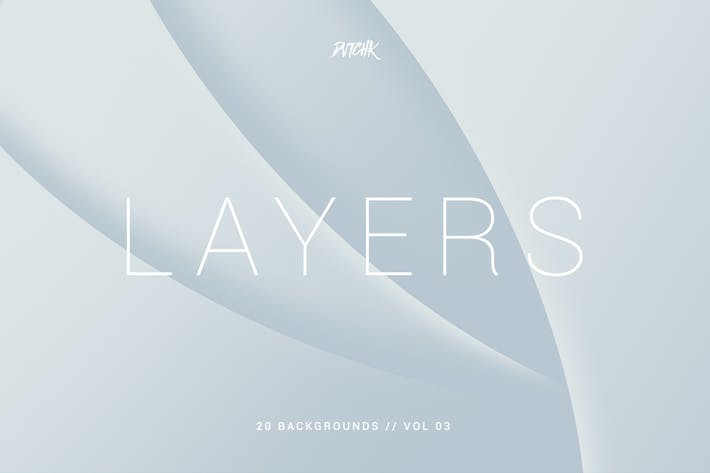 Thumbnail for Layers | Wavy Curves Backgrounds | Vol. 03