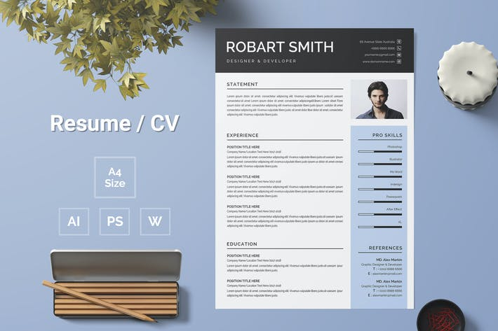Thumbnail for Resume Template 118