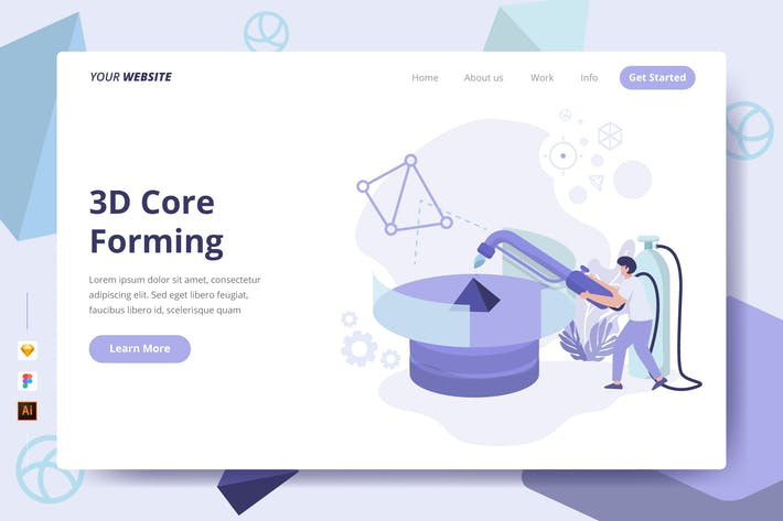 Thumbnail for 3D Core Forming - Landing Page