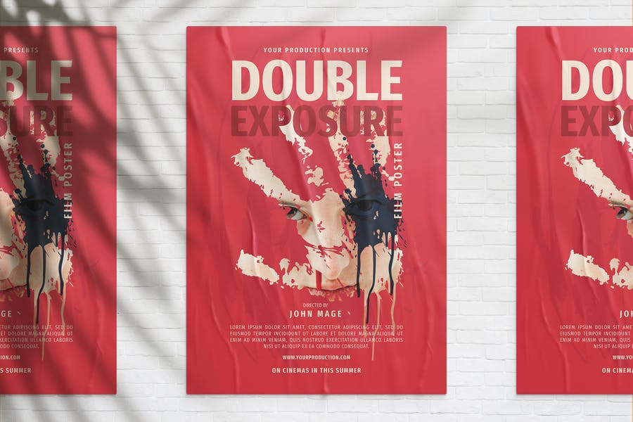 Double Exposure Movie Poster