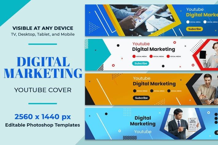 Thumbnail for Digital Marketing Youtube Cover