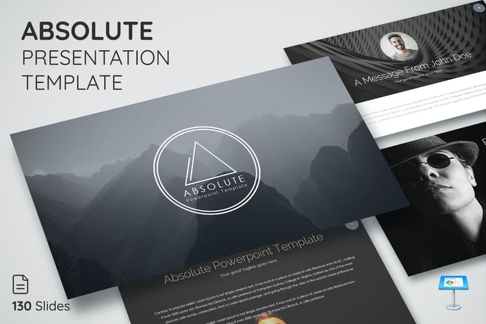Thumbnail for Absolute - Keynote Presentation Template