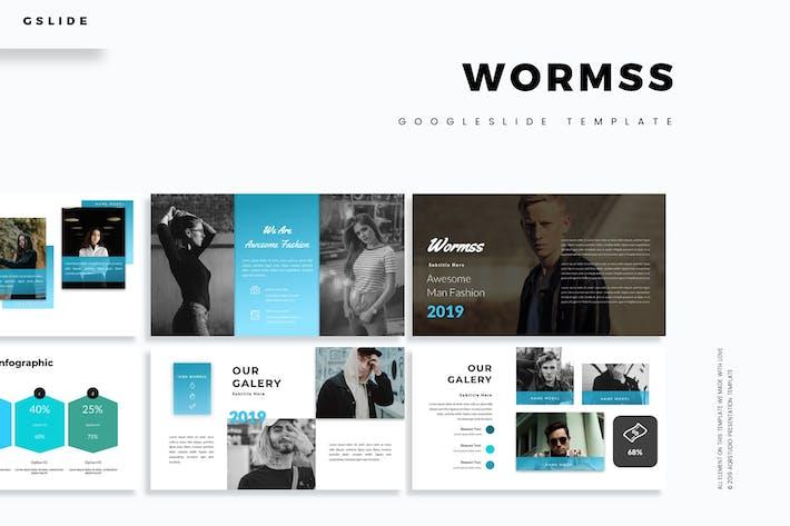Thumbnail for Wormss - Google Slide Template