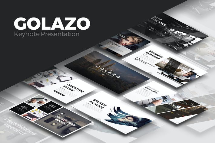 Cover Image For Golazo Keynote Presentation