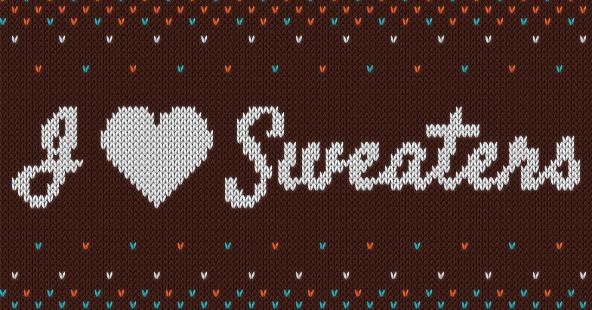 I ♥ Sweaters - Smart Knitted Effect by slid