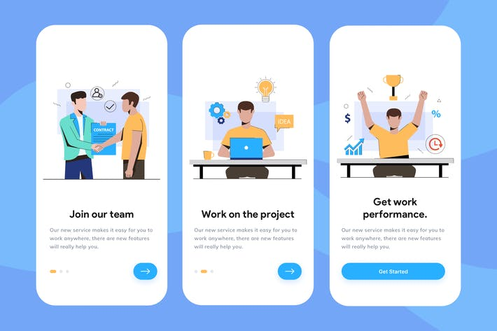 Thumbnail for Remote Working Onboarding Illustration
