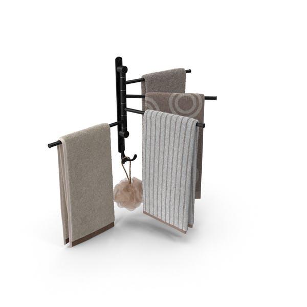 Thumbnail for Modern Bathroom Towel Rack