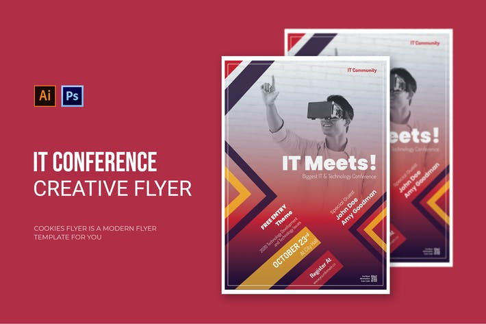 Thumbnail for IT Conference - Flyer