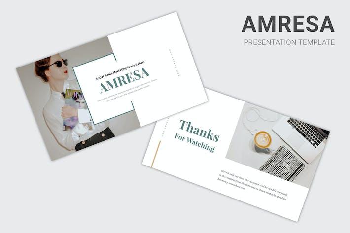 Thumbnail for Amresa : Tech Business Powerpoint