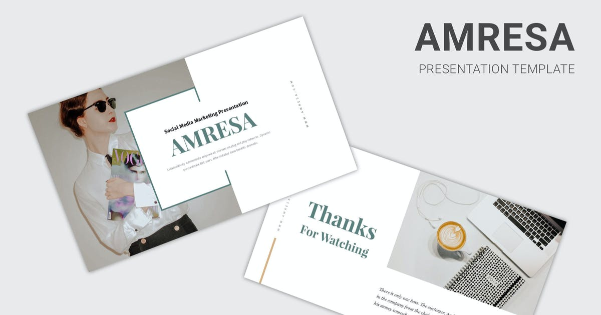 Download Amresa : Tech Business Powerpoint by Madlistudio