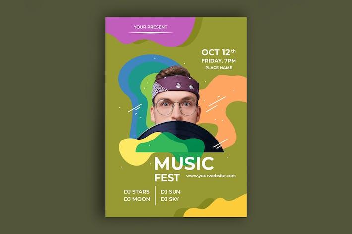 Thumbnail for Affiche de musique