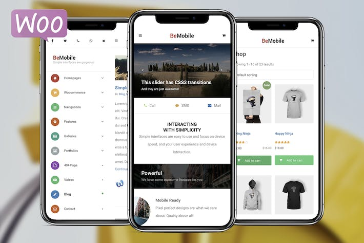 Thumbnail for Be Mobile | Mobile WordPress Theme (WooCommerce)