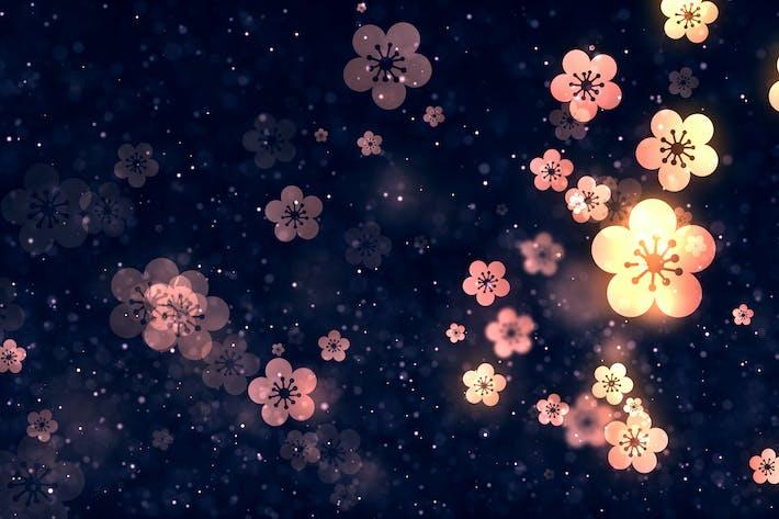 Thumbnail for Chinese Plum Blossom Background V2