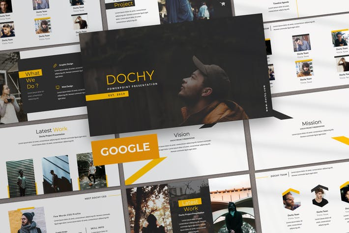 Dochy Creative Business Google Slide
