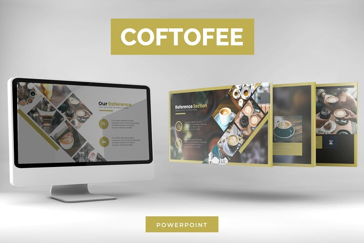 Thumbnail for Coftofee - Powerpoint Template