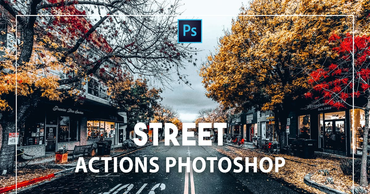 Download Cinematic Photoshop Actions by Presetsh