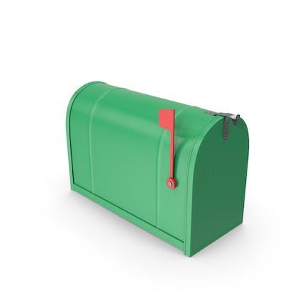 Mailbox Closed Green