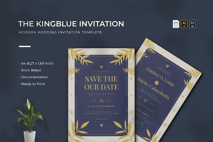 Kingblue | Wedding Invitation