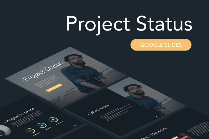 Thumbnail for Project Status Google Slides Template