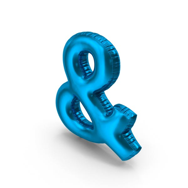 Foil Balloon Ampersand