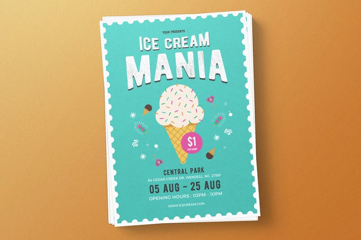 Thumbnail for Ice Cream Flyer