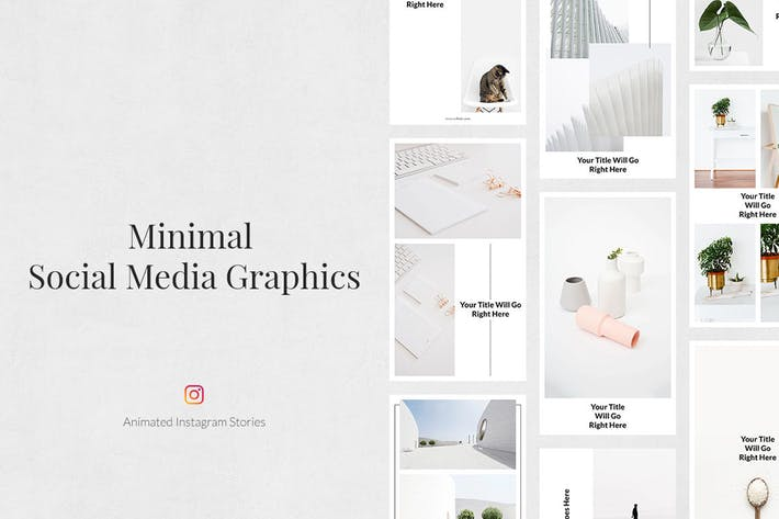 Thumbnail for Minimal Animated Instagram Stories