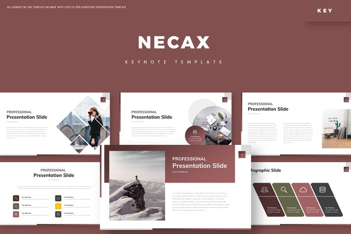 Cover Image For Necax - Keynote Template