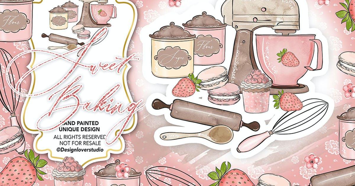 Download Sweet Baking design by designloverstudio