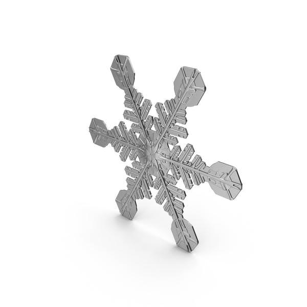Snowflake 2a silver