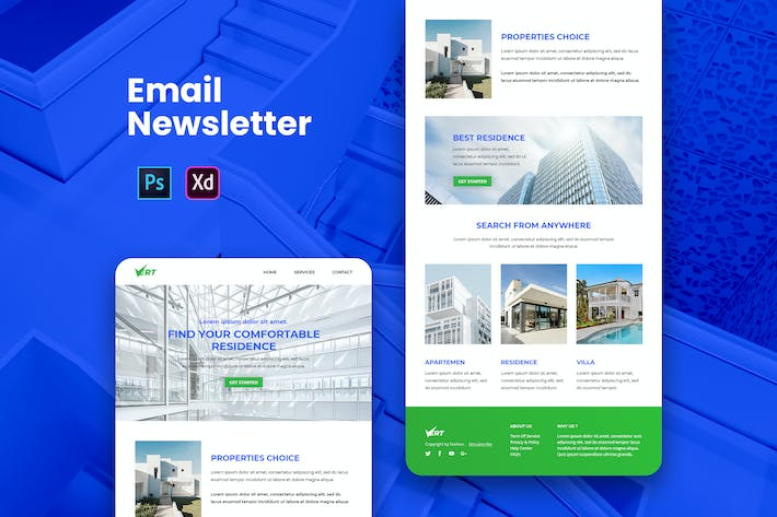 Thumbnail for Property Email Newsletter