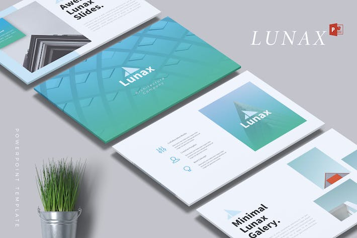 LUNAX - Architecture Powerpoint Template