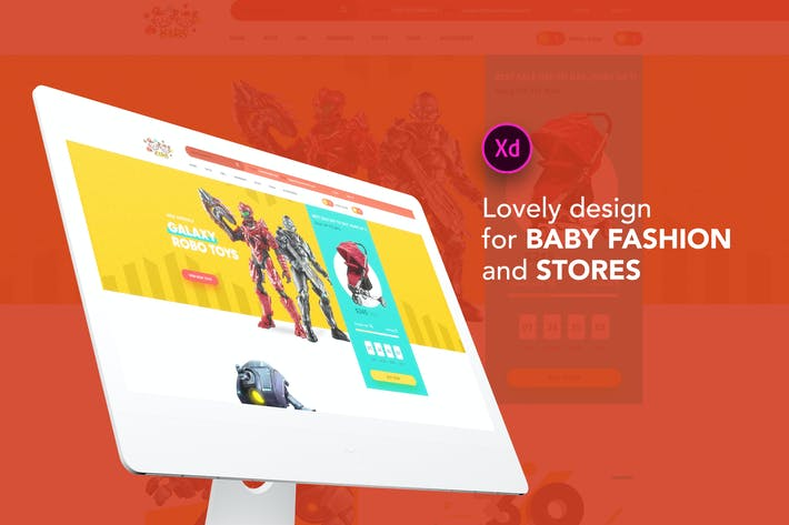 Thumbnail for Kids - Lovely design for Baby Fashion and Stores