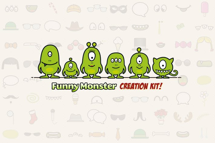 Thumbnail for Monster Family Creation Kit