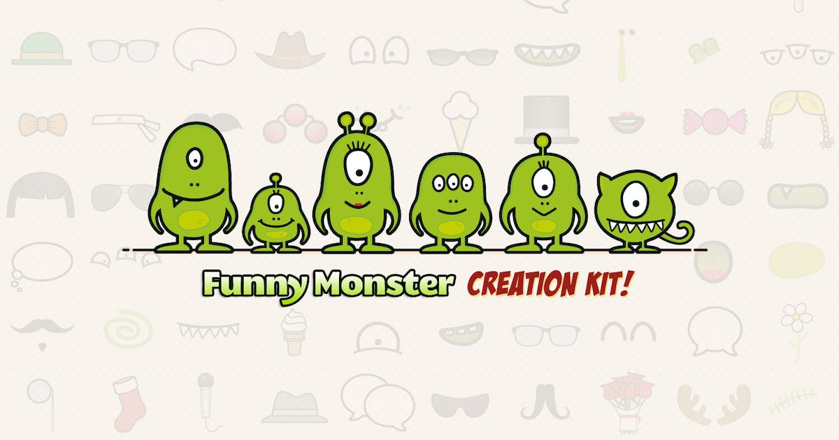 Download Monster Family Creation Kit by Sargatal
