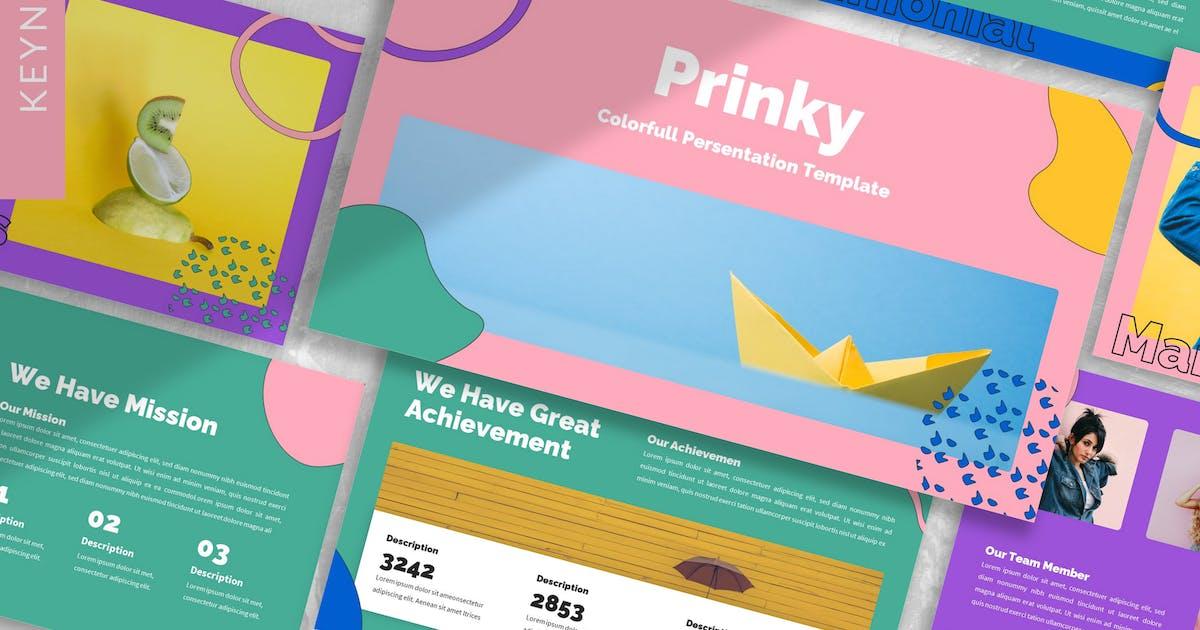 Download Prinky - Creative Keynote Template by designesto