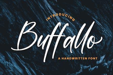 Buffallo - Movie Font