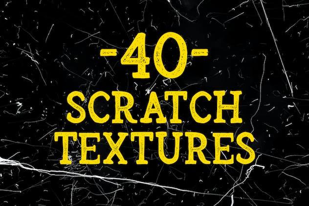 40 Scratch Textures