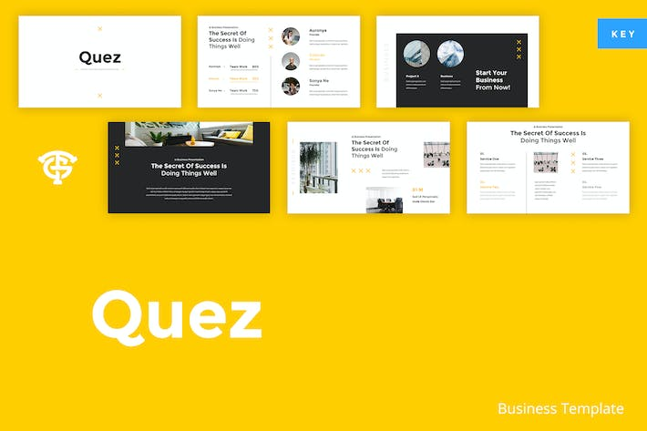 Thumbnail for Quez Business - Keynote