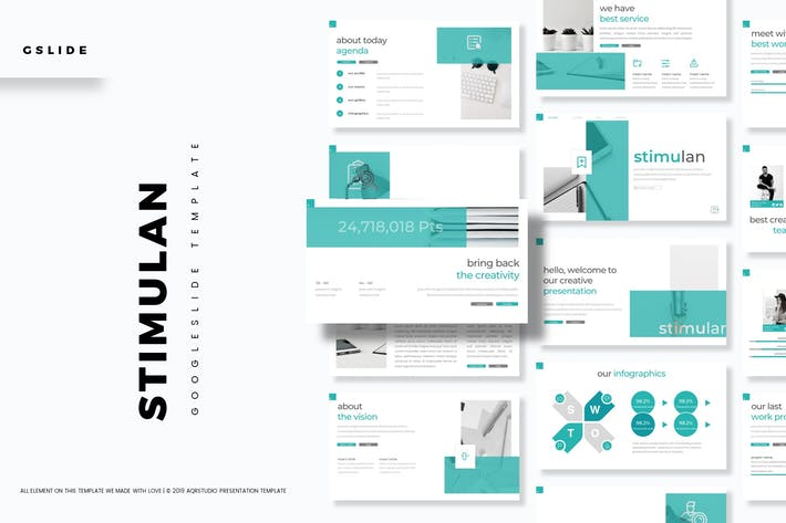 Thumbnail for Stimulan - Google Slide Template