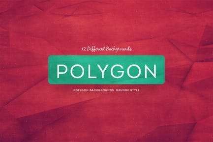 Polygon Backgrounds Grunge Style