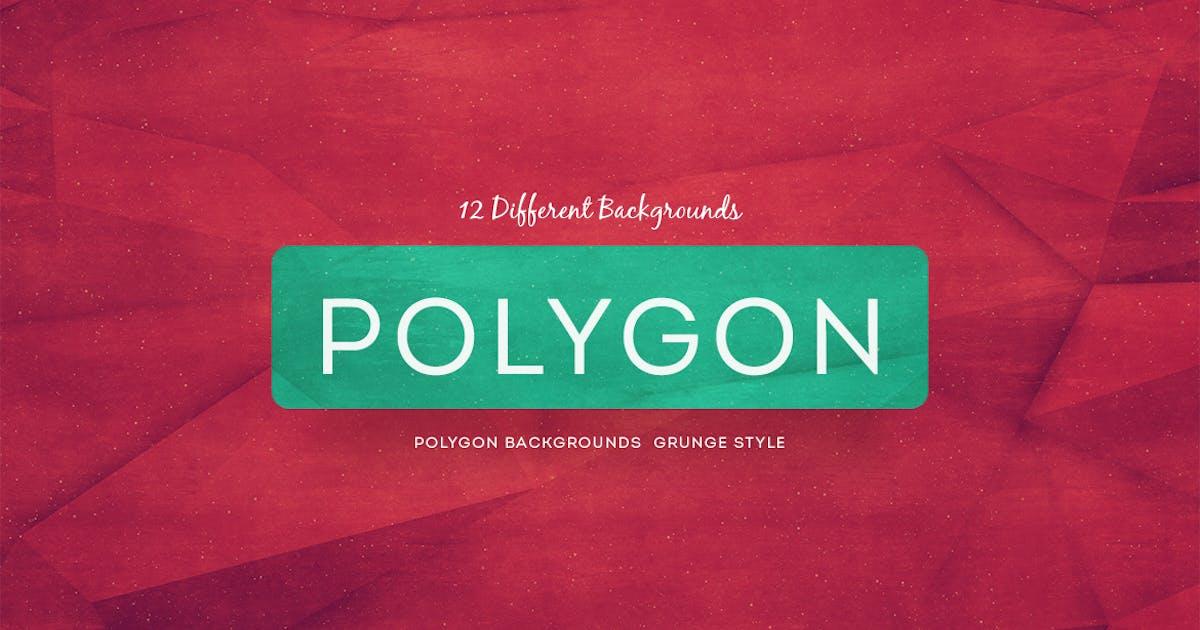 Download Polygon Backgrounds Grunge Style by mamounalbibi