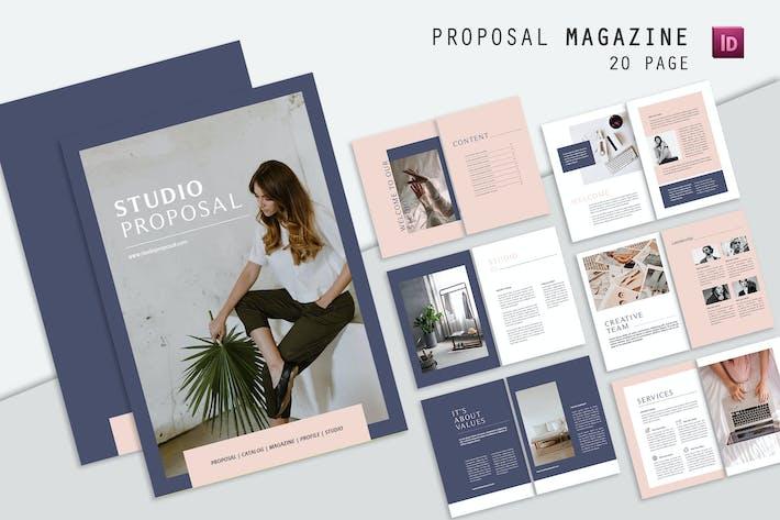 Thumbnail for Studio Proposal Magazine