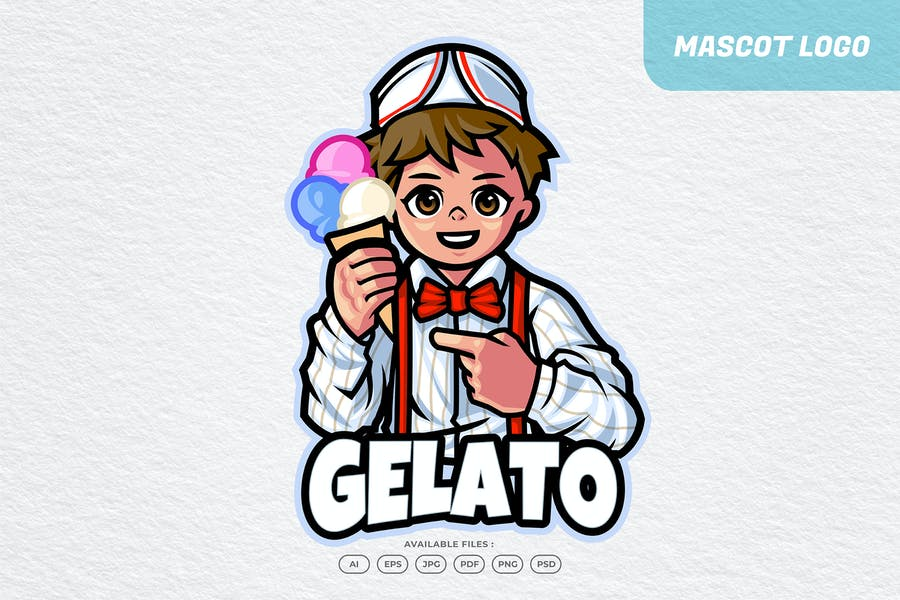 Gelato Chef Logo