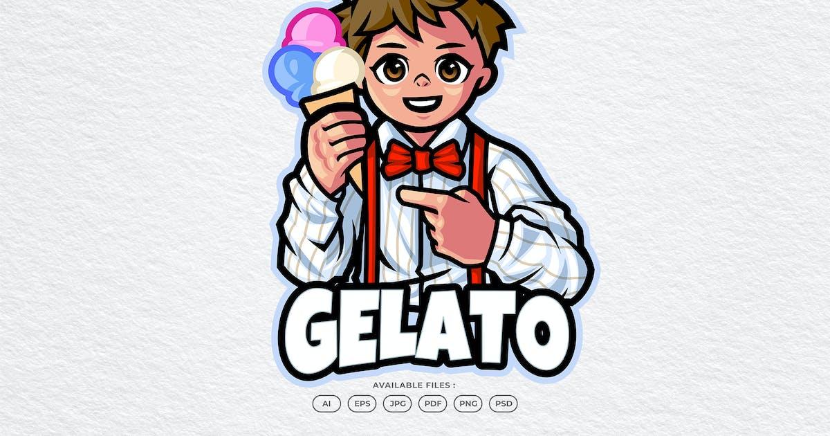 Download Gelato Mascot Logo by yogaperdana7