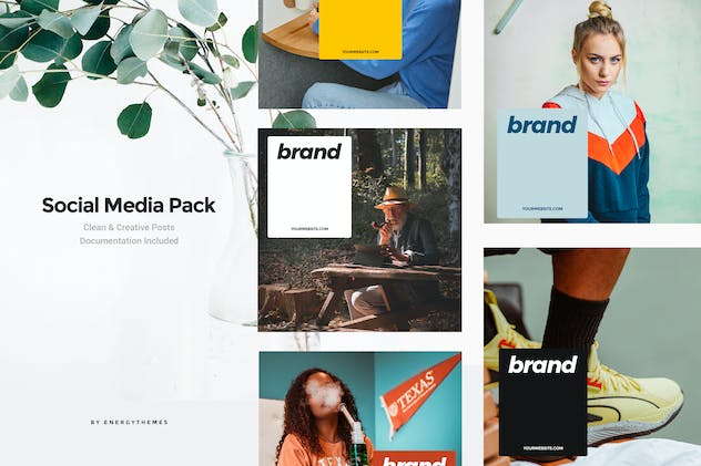 Social Media Banners - Vol80 - product preview 0