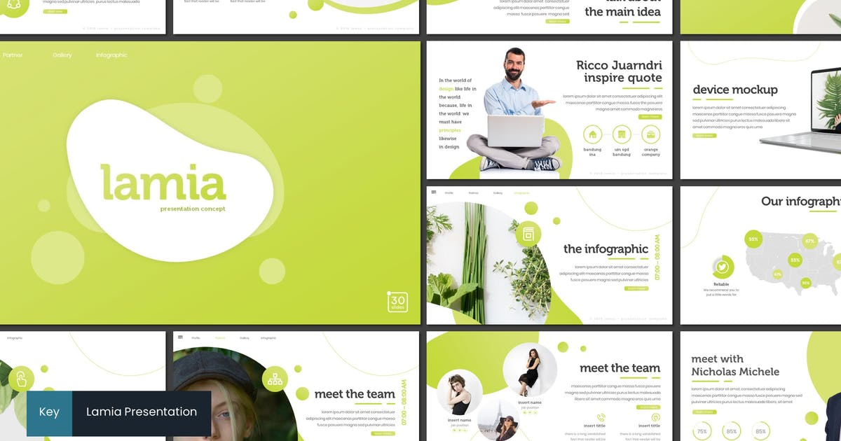 Download Lamia - Keynote Template by inspirasign