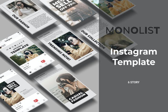 Thumbnail for Monolist - Photography Social Media Story Part 4