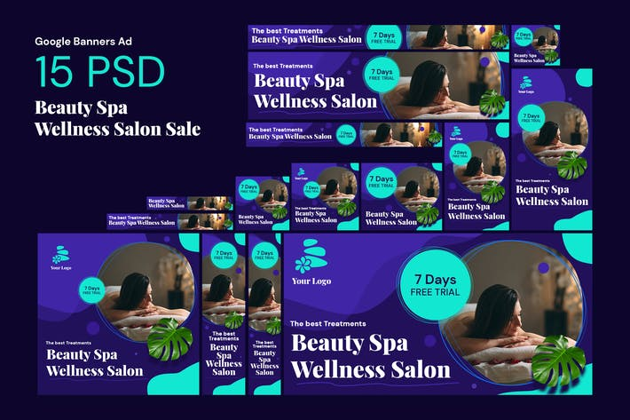 Spa & Health Banners Ad
