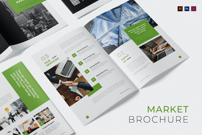 Thumbnail for Business Market Brochure